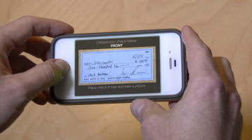 Deposit Check with Smart Phone